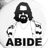 Design ~ ABIDE Button (5 pack)