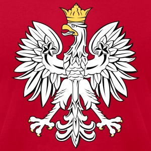 Polish Eagle - Mens - Men's T-Shirt by American Apparel