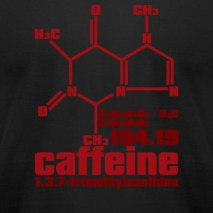 Caffeine - Men's T-Shirt by American Apparel