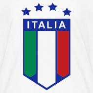 Design ~ Kid's ITALIA SHIELD 4 STARS, White