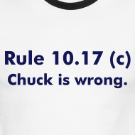 Design ~ Rule 10.17(c) Shirt