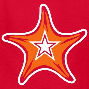 Red seastar Kids Shirts - Kids' T-Shirt