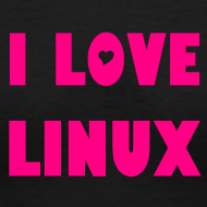 Design ~ I Love Linux - For Her