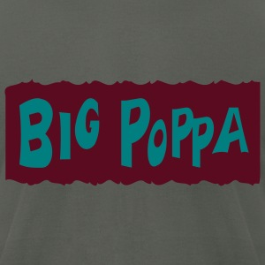 Asphalt Big Poppa With Background T-Shirts (Short sleeve) - Men's T-Shirt by American Apparel
