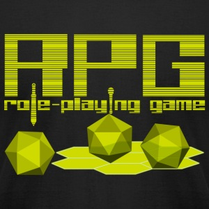 RPG - Men's T-Shirt by American Apparel