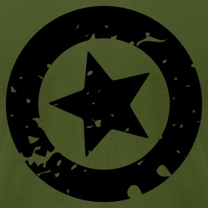 Grunge Star - Mens - Men's T-Shirt by American Apparel