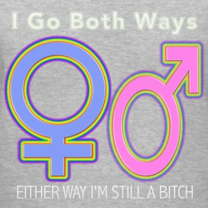 Both Ways - Women's V-Neck T-Shirt