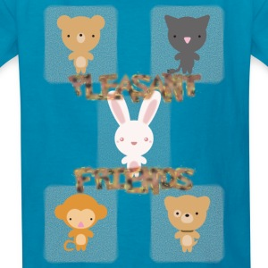 Pleasant_Animals - Kids' T-Shirt
