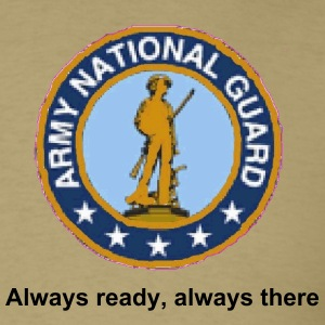 national gaurd - Men's T-Shirt