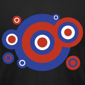 Roundel - Men's T-Shirt by American Apparel