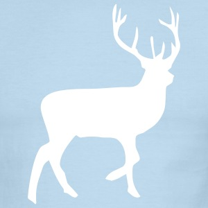 Chocolate/tan deer T-Shirts (Short sleeve) - Men's Ringer T-Shirt