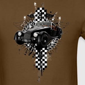 Brown auto_distressed_morgan_44 T-Shirts (Short sleeve) - Men's T-Shirt