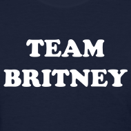 Design ~ TEAM BRITNEY T-Shirt Ladies