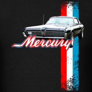 Black auto_mercury_cougar_2 T-Shirts (Short sleeve) - Men's T-Shirt