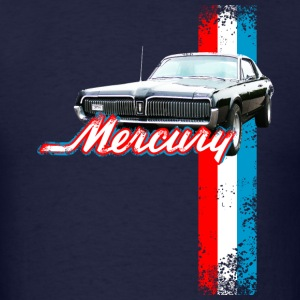 Navy auto_mercury_cougar_2 T-Shirts (Short sleeve) - Men's T-Shirt