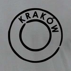 Slate Krakow - Poland T-Shirts (Short sleeve) - Men's T-Shirt by American Apparel