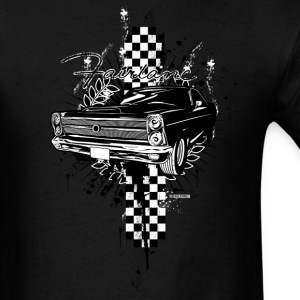 Black auto_ford_fairlane_01 T-Shirts (Short sleeve) - Men's T-Shirt