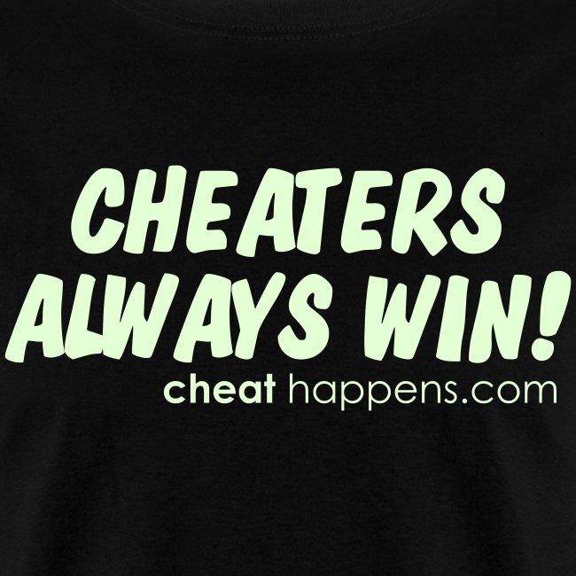 Cheaters always win | Men's T-Shirt