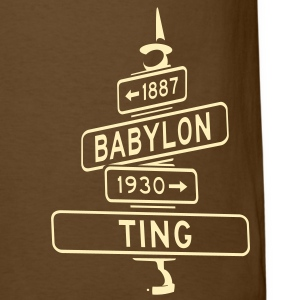 corner of babylon & ting men's t - Men's T-Shirt