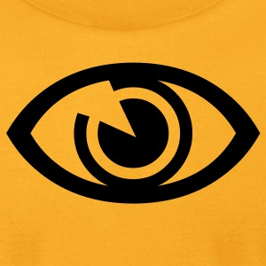 Gold eye T-Shirts (Short sleeve) - Men's T-Shirt by American Apparel