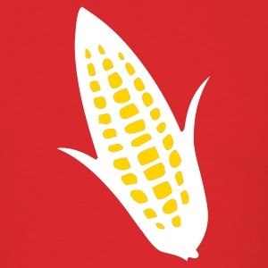 Red ear of corn T-Shirts (Short sleeve) - Men's T-Shirt