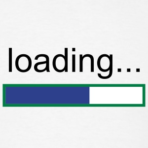 Search Designs- Loading - Men's T-Shirt