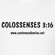 Design ~ Colossenses 3:16 - Black Text