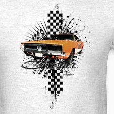 Ash  auto_charger_distressed_02 T-Shirts (Short sleeve)