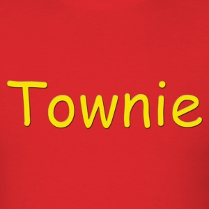 Townie - Red - Men's T-Shirt
