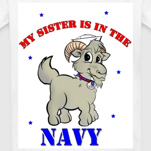 My sister is in the navy - Kids' T-Shirt