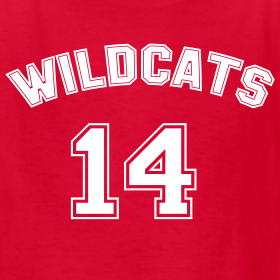 Design ~ WILDCATS HIGH SCHOOL COSTUME Kids Tee