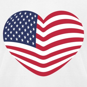 PATRIOT - Men's T-Shirt by American Apparel