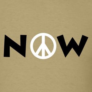 Peace Now - Men's T-Shirt