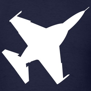 Navy Fighter Jet T-Shirts (Short sleeve) - Men's T-Shirt