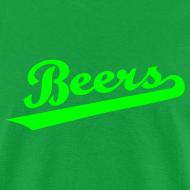 Design ~ IRISH BEERS Team T-Shirt - St Patrick's Day - BASEketball Movie T-Shirt