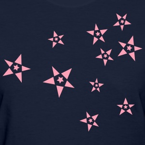 Navy These Old Sstars Women's Tees (Short sleeve) - Women's T-Shirt