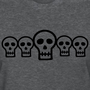Halloween Row of Skulls - Women's T-Shirt