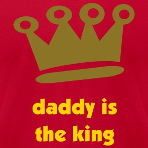 Daddy Crown - Men's T-Shirt by American Apparel