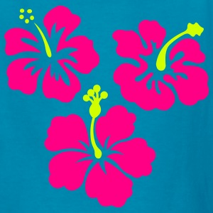Hibiscus Flowers - Kids' T-Shirt