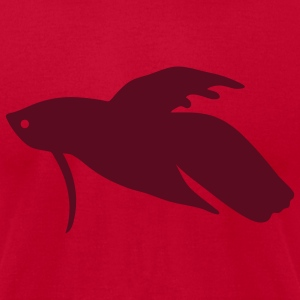 Betta Fish - Men's T-Shirt by American Apparel