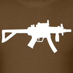 Brown MP5 T-Shirts (Short sleeve)