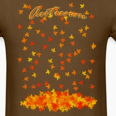 Brown Autumn T-Shirts (Short sleeve)