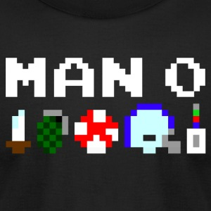 Man Zero men's tee - Men's T-Shirt by American Apparel