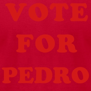 Lemon Vote for Pedro T-Shirts (Short sleeve) - Men's T-Shirt by American Apparel