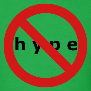 NO HYPE - Men's T-Shirt