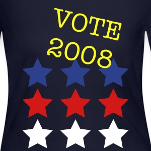 Navy USA stars Tees (Long sleeve) - Women's Long Sleeve Jersey T-Shirt