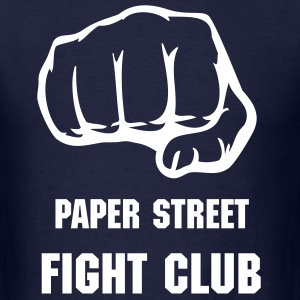 Paper St. Fight Club - Men's T-Shirt