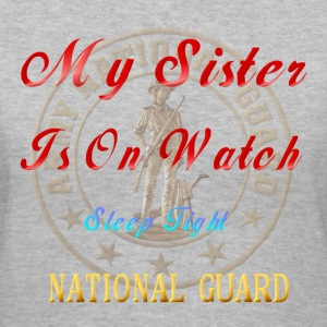 National Guard_My Sister - Women's V-Neck T-Shirt