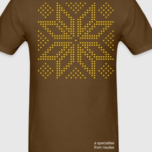 Brown selbu_rose_plsqr_1c02 T-Shirts (Short sleeve) - Men's T-Shirt