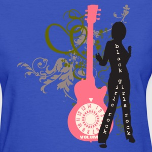 Light blue Black Girls Rock Women's Tees (Short sleeve) - Women's T-Shirt